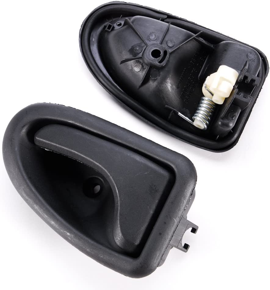 Paire Poignee de Porte avant interieur Pour Renault Clio II Annee 1998–2012 noir