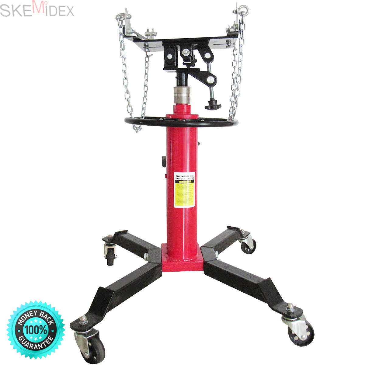 SKEMIDEX---1500 LB 2 Stage Hydraulic Transmission Jack w/ 360° Swivel Wheels Lift Hoist And espresso machine portafilter And espresso machine part names And espresso machine filter basket