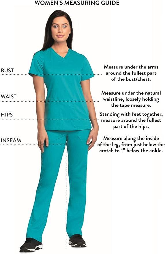 Details about  /Tooniforms TF641 Women/'s V-Neck Scrubs Top