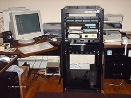 Amazon Com Startech Com 42u Adjustable 4 Post Open Server