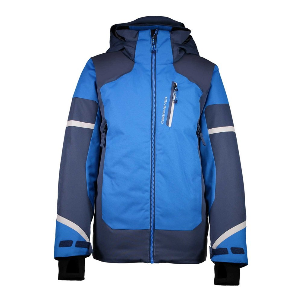Obermeyer Kids Boy's Outland Jacket (Little Kids/Big Kids) Stellar Blue Medium 41042-16068-M