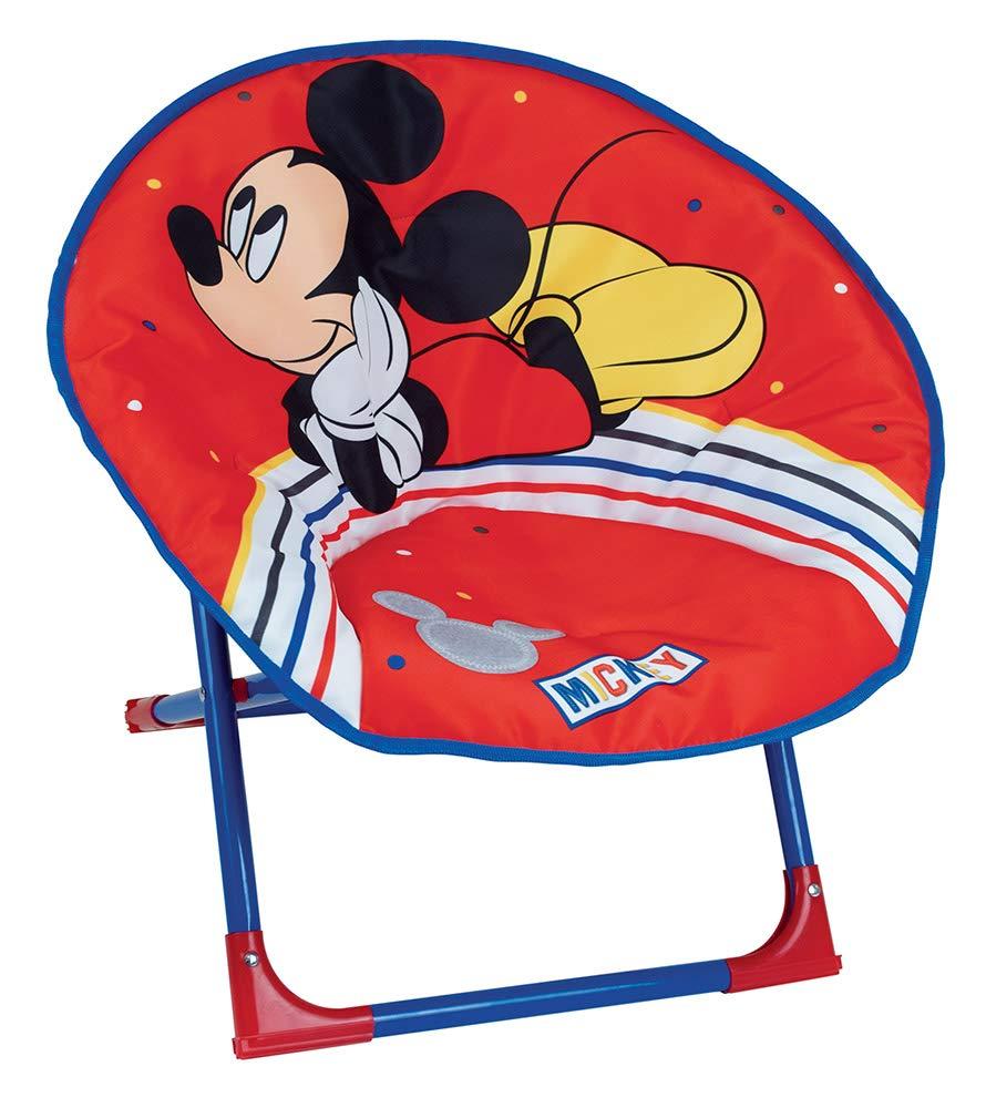 FUN HOUSE 713014 Disney Mickey Siège Lune pour Enfant