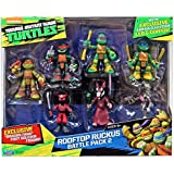 Teenage Mutant Ninja Turtles Half-Shell Heroes Rooftop Ruckus Battle Pack 2