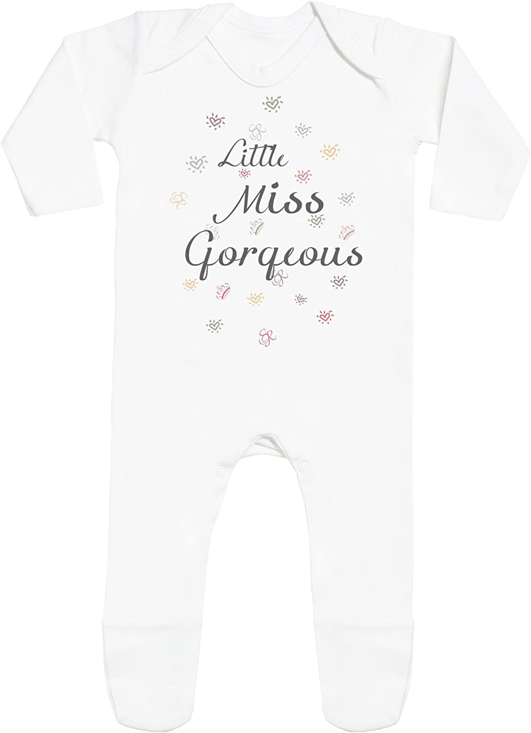 Personalised Baby Romper Personalised Your Text Here Baby Rompersuit SR