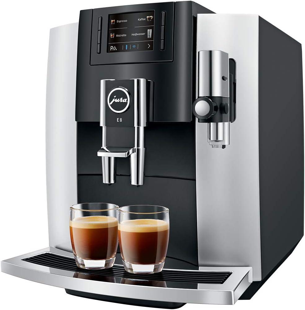 Kaffeevollautomat Jura E8 Platin im Test