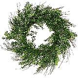Artificial boxwood wreath 25''