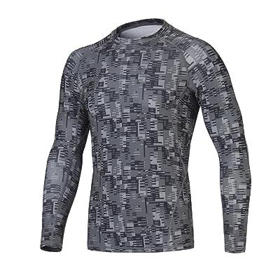 Men Compression t-shirt Long Sleeve 3D Fitness Men Quick Dry Running Men Jogging Gym Clothing Sport Training T-shirt 2017 New