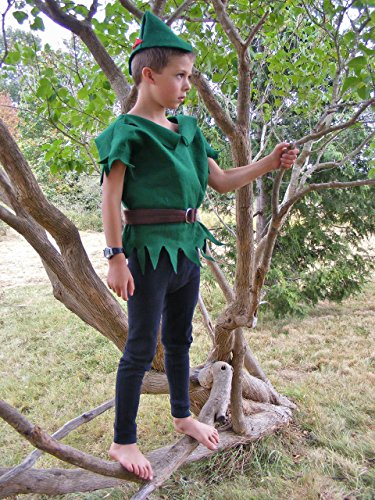 Handmade Halloween Costumes For Babies (Robin Hood/Peter Pan Costume Infant/Toddler/Child)