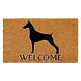 Home & More 102971729 Doberman Doormat 17