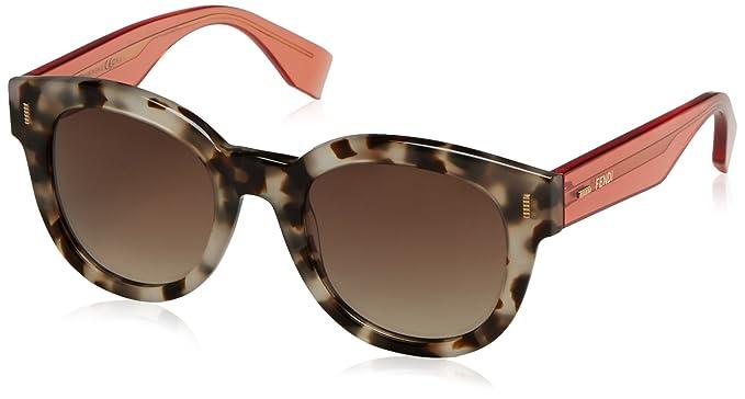1648d1f7542f Amazon.com  Fendi Women s Classic Frame Sunglasses