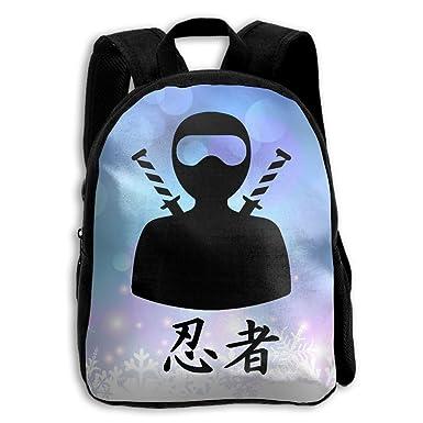 Amazon.com | The Childrens Ninja Figure Kanji Backpack ...
