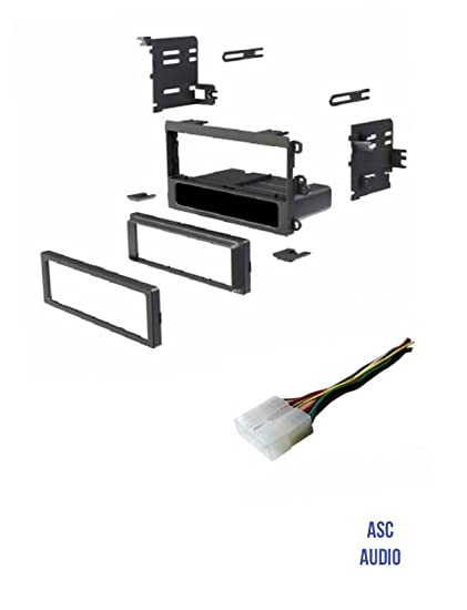 amazon com asc car stereo install dash kit and wire harness to rh amazon com