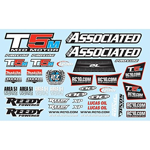 Team Associated 71022 Decal Sheet RC10T5M Vehicle Part