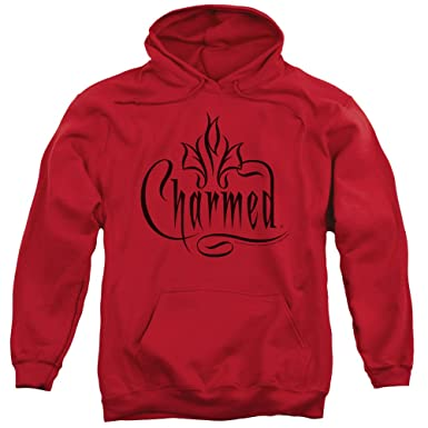 Charmed TV Show Wb Charmed Logo Adult Pull-Over Hoodie