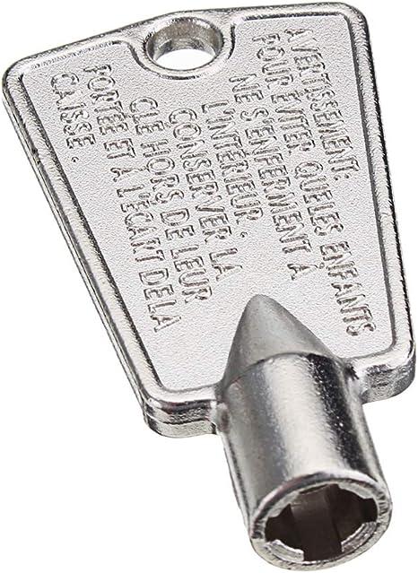 Replacement for Gibson Kelvinator Kenmore Freezers 297147700 Freezer Door Lock Key by Beaquicy 2-PACK