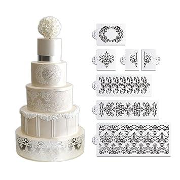 Kuchen Dekoration Plastik Schablone Schablone Kuchen Topper