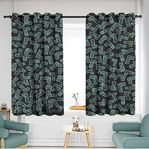 home1love Extra Wide Patio Door Curtain W 55
