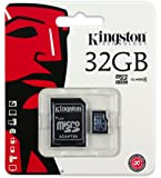 Kingston Technology Micro SDHC 32GB Memory Card