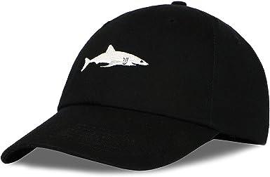 White Shark Man Vintage Baseball Cap Unisex Adjustable Baseball Hats Dad Hat