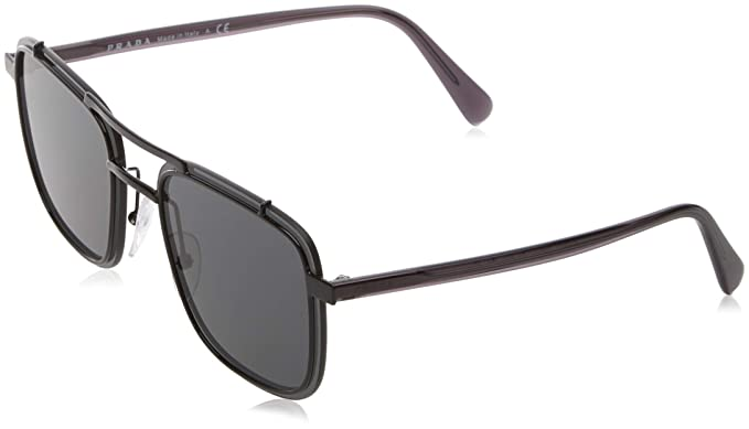 ae585357d54 Amazon.com  Prada Men s 0PR 59US Black Grey One Size  Prada  Clothing