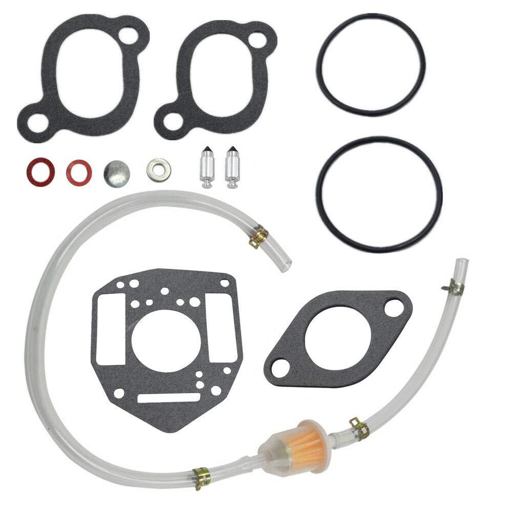 FidgetKute for Onan Carburetor Kit Replaces for John Deere Onan P 216 218 220 Nikki