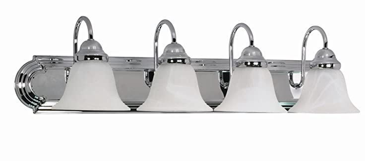 Nuvo Lighting 60/318 Four Light Vanity - Vanity Lighting Fixtures ...