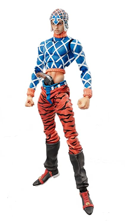 Medicos JoJo's Bizarre Adventure: Part 5--Golden Wind: Guido Mista & Sex  Pistols Super Action Statue (Released)