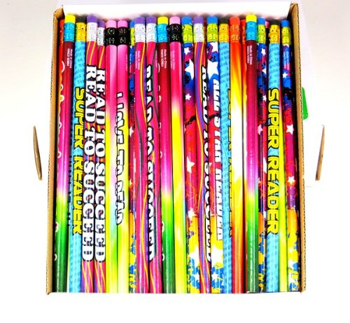 One Gross 144 Readers Pencil Assortment 7.5'' Long by Edison Novelty (Image #3)