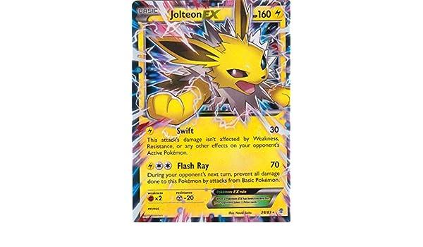Pokémon - Tarjeta única - Jolteon EX- Generaciones # 28/83 ...