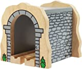 Bigjigs Rail Grey Stone Tunnel - Other Major Wooden Rail Brands are Compatible