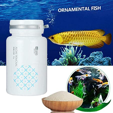 CrystalClear Algae Repellent Agent Tank Moss Remover Aquarium Algaecide W//Spoon