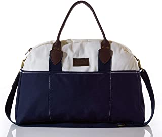 product image for Sea Bags Recycled Sail Cloth Chebeague Island Weekender Navy