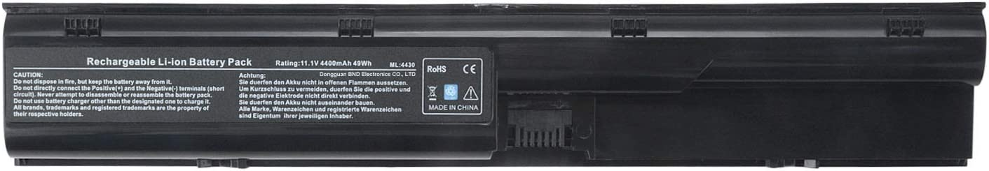 TAUPO Laptop Battery Compatible with HP Probook 4530s 4535s 4540s 4545s 4440s 4430s 4431s 4435s 4330s Series, fits P/N 633805-001 HSTNN-IB2R 633733-321[4400 mah/ 49wh]