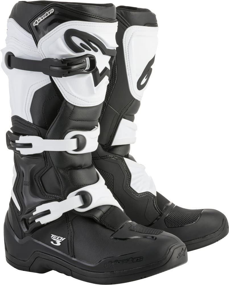 Alpinestars Tech 3 Motocross Off-Road Boots 2018 Version Mens Black//White Size 14