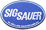 SIG SAUER Rifle Pistol Gun Shotgun Firearms Knife Logo Jacket T shirt Patch Sew Iron on Embroidered Symbol Badge Cloth Sign By Prinya Shop