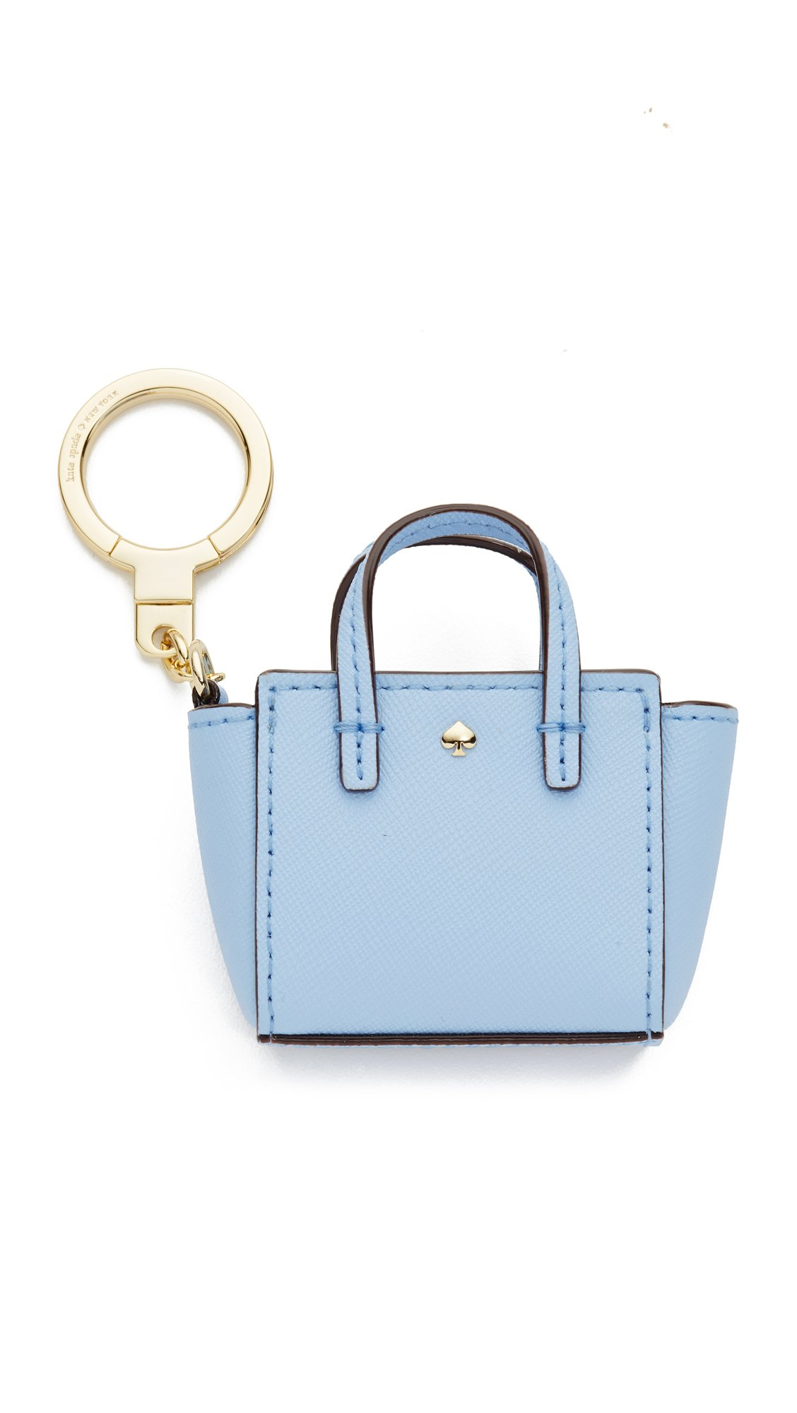 Kate Spade New York Women's Mini Hayden Keychain, Sky Blue, One Size