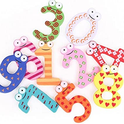 oryougo wooden cartoon animal fridge magnetmagnetic letters and numbers for home decoration toddlers kids