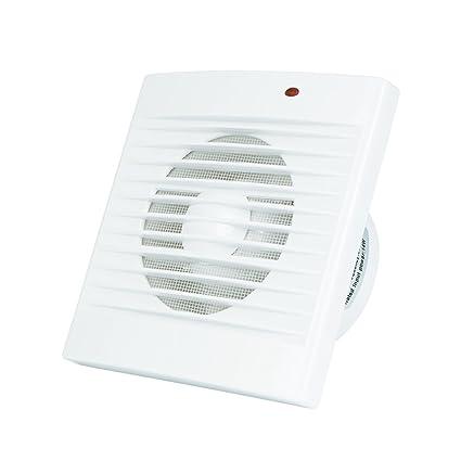 Wondrous Honguan 4 Inch Standard Bathroom Extractor Fan 100Mm Duct Ventilation Fan With Fly Screen Mesh 100Mm Standard Fan Beutiful Home Inspiration Xortanetmahrainfo