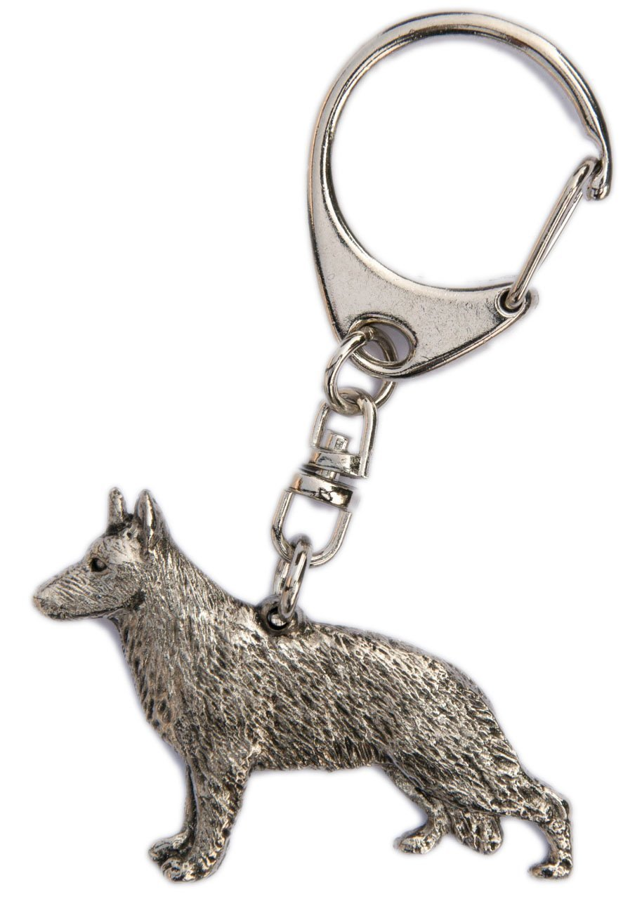 German Shepherd Made in u.k Artisticスタイル犬キーリングコレクション B00HDBMSUE