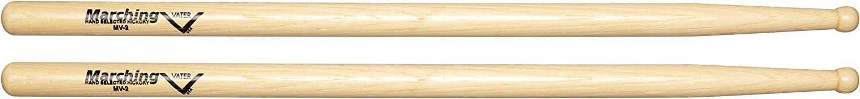 Vater MV2 Marching Drum Sticks with Round Tip, Pair Drumsticks