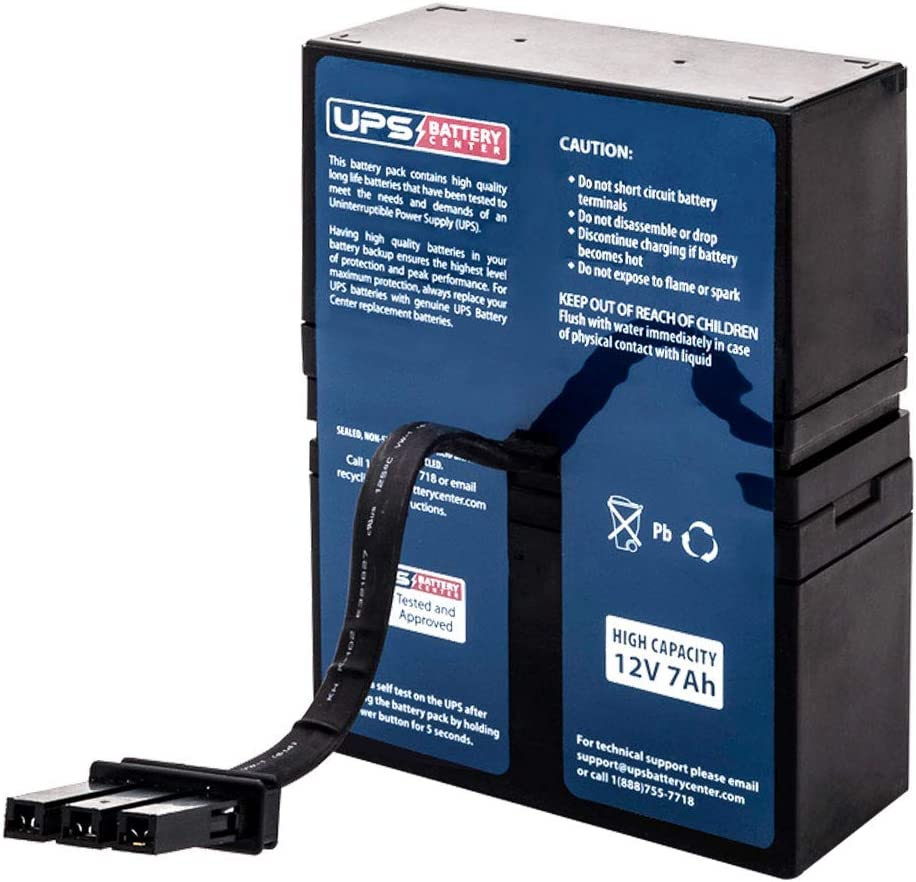 UPSBatteryCenter Compatible Battery Pack for APC Back-UPS NS 1050 BN1050-CN