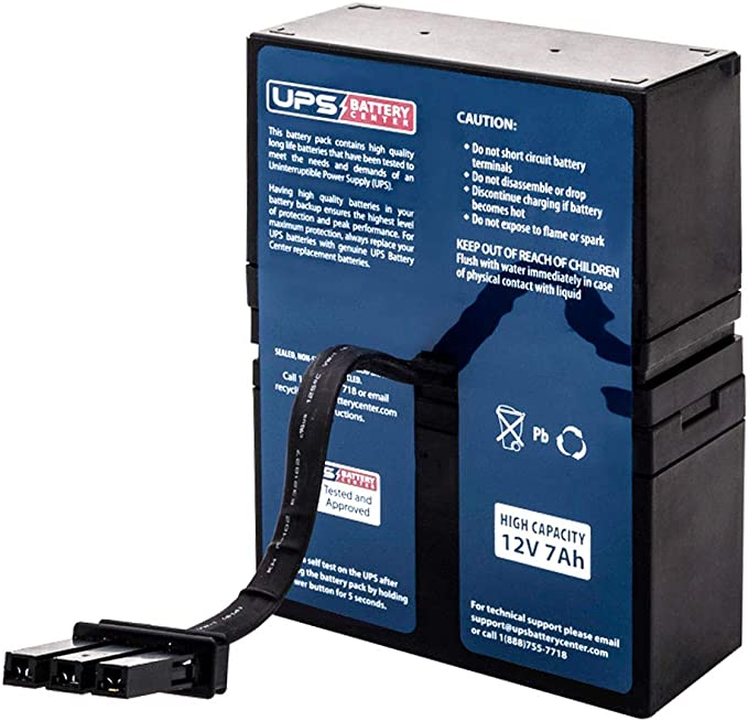 APC Back-UPS XS XS900R BX900R Rechargeable, high Rate Replacement Battery Pack