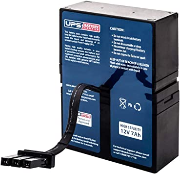APC Back-UPS RS 900 BR900 UPSBatteryCenter Compatible Replacement Battery Pack