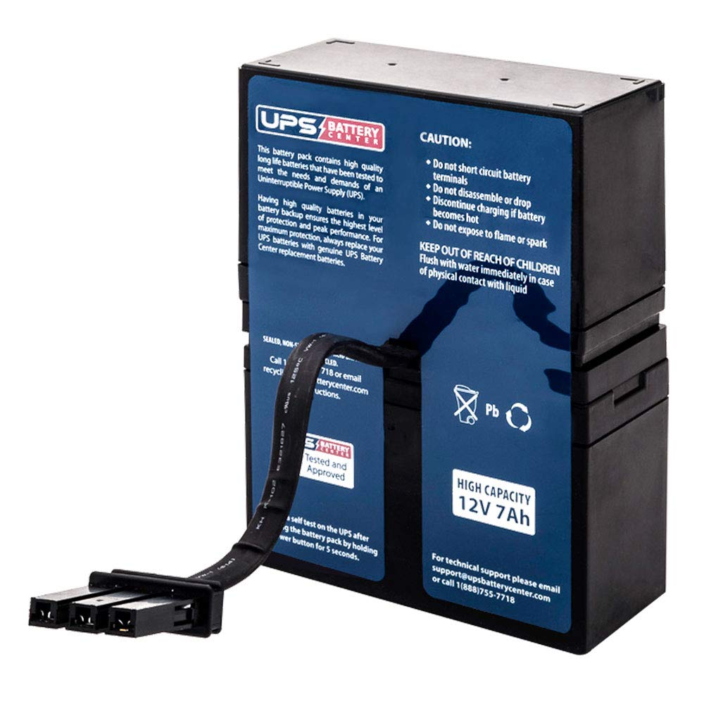 BR800 - UPSBatteryCenter RBC32 Compatible Replacement Battery Pack for APC Back-UPS RS 800VA BR800