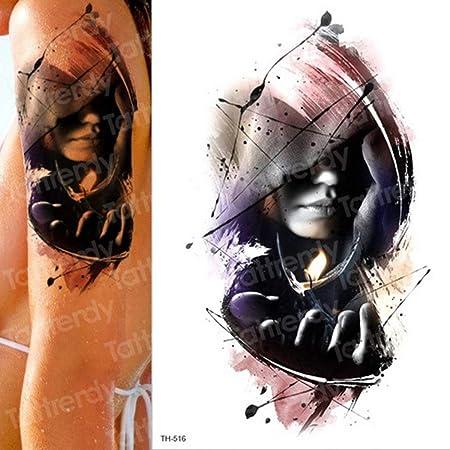 adgkitb 3 Piezas Tatuaje Temporal y Arte Corporal Tatuaje Pegatina ...