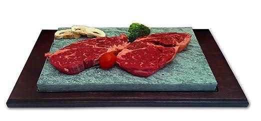 Piedrasar Premium Nogal Piedra para Asar Carne: Amazon.es