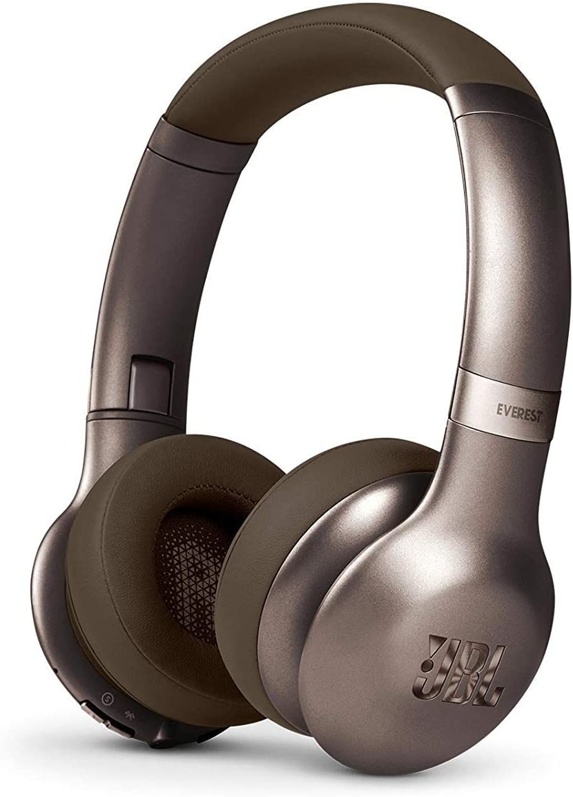 JBL Everest 310 On-Ear Wireless Bluetooth Headphones with Microphone - Brown (Renewed)