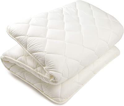 BJDesign Futon Mattress Bedding - Traditional Japanese Sleeping Mat - Shikibuton Shiki Futon - Floor Beds for Apartment, Home, Studio - Double Volume Cotton