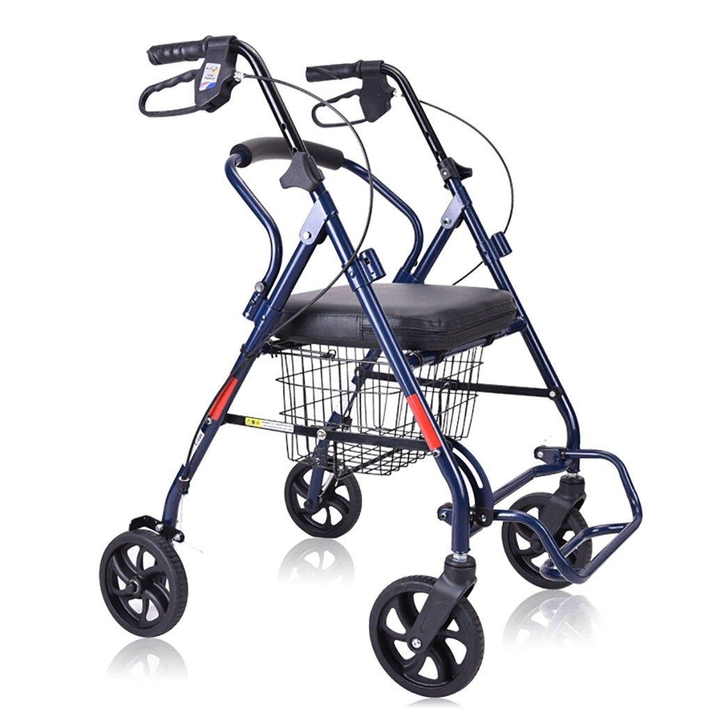 即日発送 高齢者ウォーカー/トラベラー/高齢者ショッピングカート*/ウォーカー付き車椅子ハンドブレーキ付きポータブルハンドブレーキ車折り畳み式ケーンスツール車椅子サイズ:63* 61 61*(85-96)cm*(85-96)cm B07L6BYGT3, 北足立郡:f8080585 --- a0267596.xsph.ru