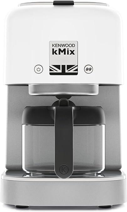 Kenwood kMix Independiente - Cafetera (Independiente, Cafetera de filtro, 0,84 L, De café molido, 1200 W, Blanco): Amazon.es: Hogar